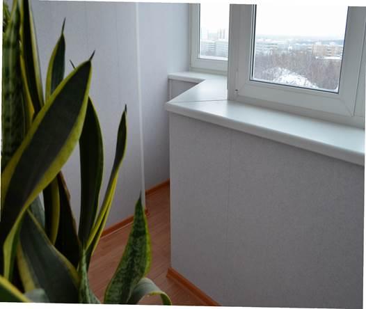 Теплый вариант остекления лоджий в домах серии П 44
