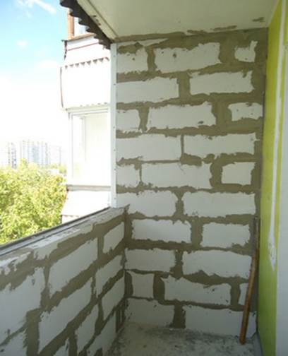 Утепление лоджии своими руками: парапет на балконе.
