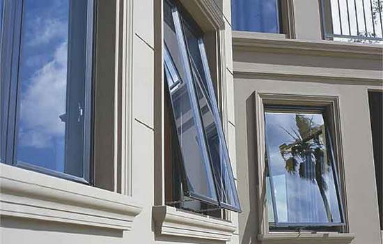 Внешний вид остекления балкона из пластика