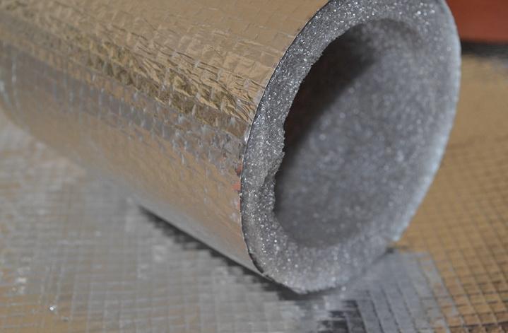 Вспененный полиэтилен для термоизоляции балкона