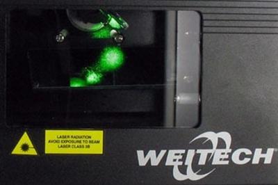 Лазерный прибор создает лучи, пугающие птиц
