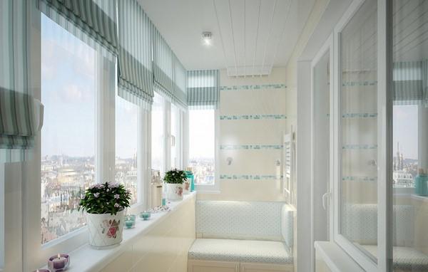Дизайн балкона в панельном доме