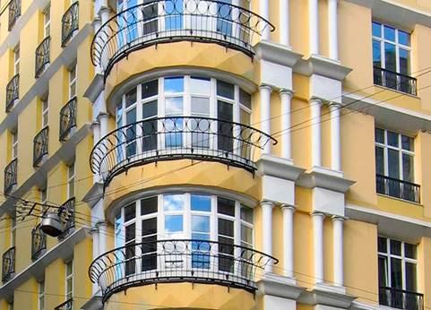 Просторные балконы