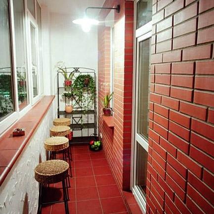 Способ отделки балкона