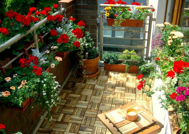 Балконный цветник