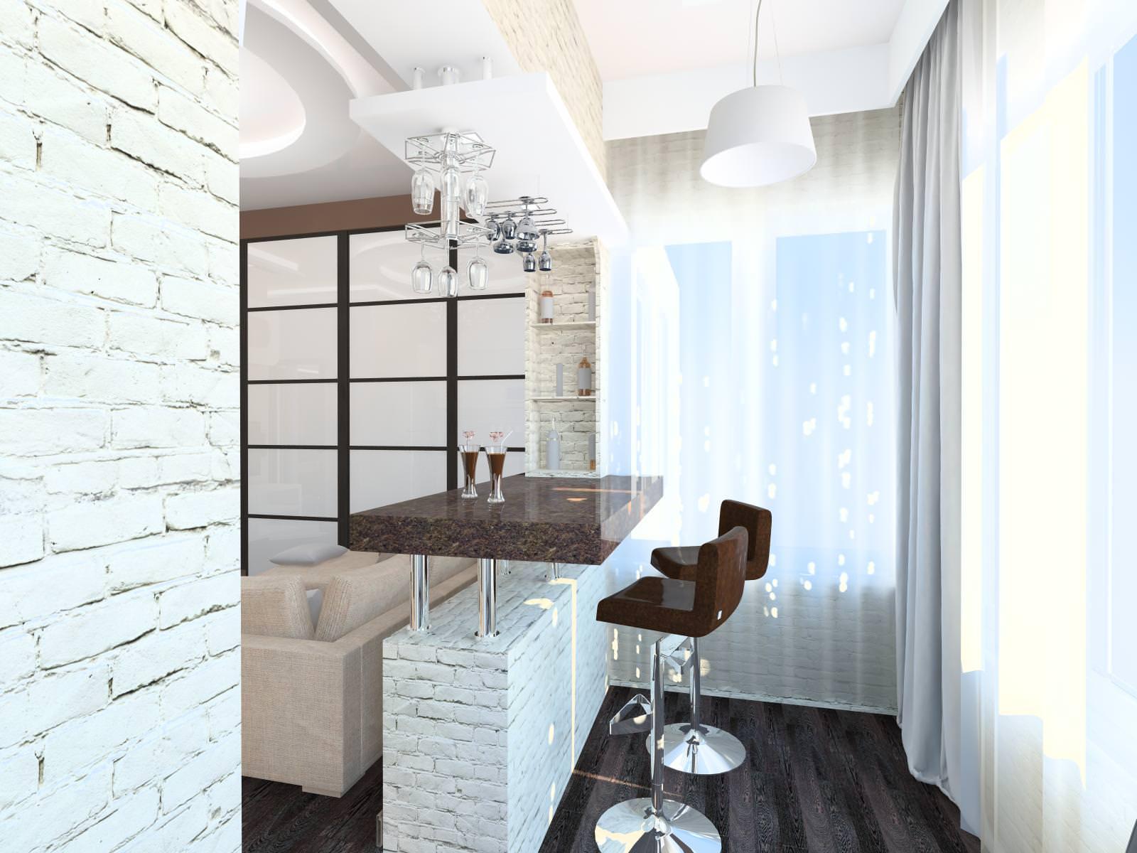 Расстановка мебели на кухне с балконом: дизайн кухни 11 и 10.