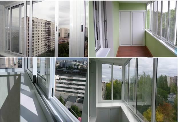 Остекление балконов профилем Проведал