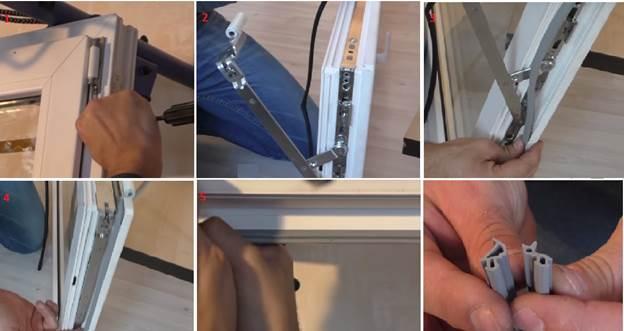 Ремонт пластиковой балконной двери с заменой уплотнительной ленты
