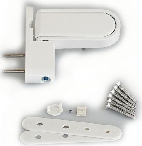 Стандартные петли для пластиковых дверей из ПВХ