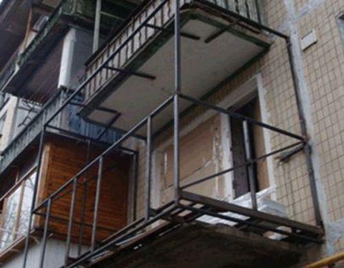 Увеличение балкона требует разрешения