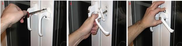 Замена ручки или замка пластиковой двери своими руками