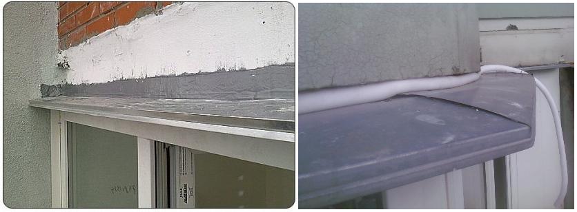 Гидроизоляция козырька балкона герметизирующими материалами