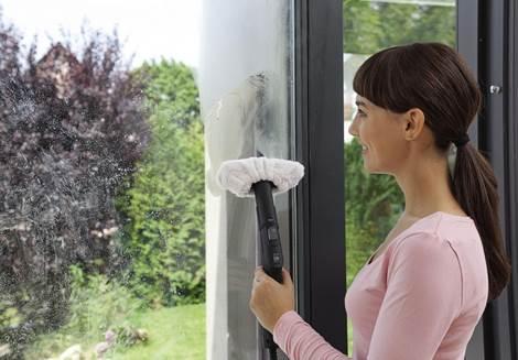 Паровая швабра для мытья окон