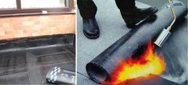 Применение рулонов из битума для гидроизоляции бетона