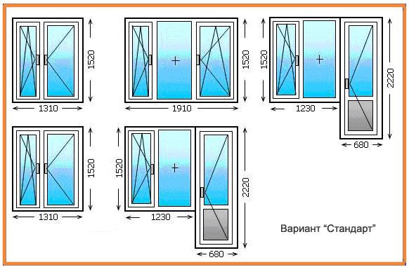 Балконный блок размеры балконной двери: как правильно замери.