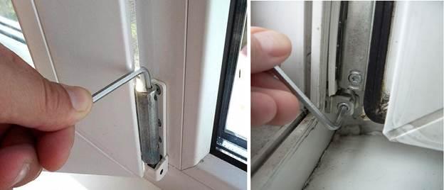 Установка вертикального и горизонтального положения дверной створки