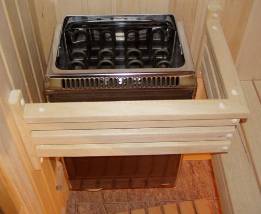 Выбор электрической печи для бани на балконе