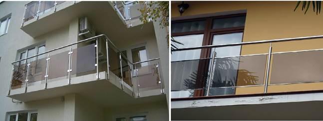 Ограждения балкона из пластика