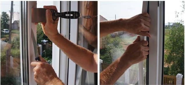 Утепление балконной двери заменой стеклопакета
