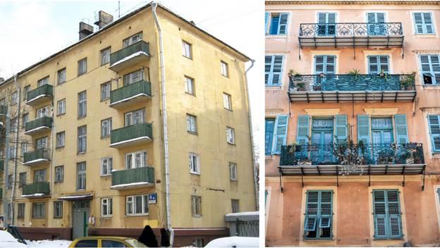 Жилые дома без защиты верхних этажей