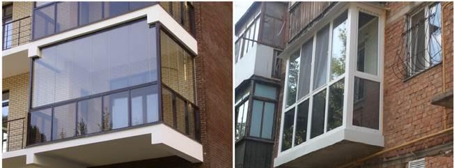 Французский вариант отделки балкона