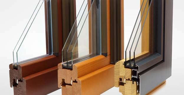 Однокамерный и двухкамерный стеклопакет в деревянной раме