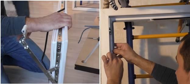 Смена уплотнительной ленты балконной двери