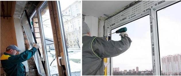 Утепление лоджии многокамерными пластиковыми окнами
